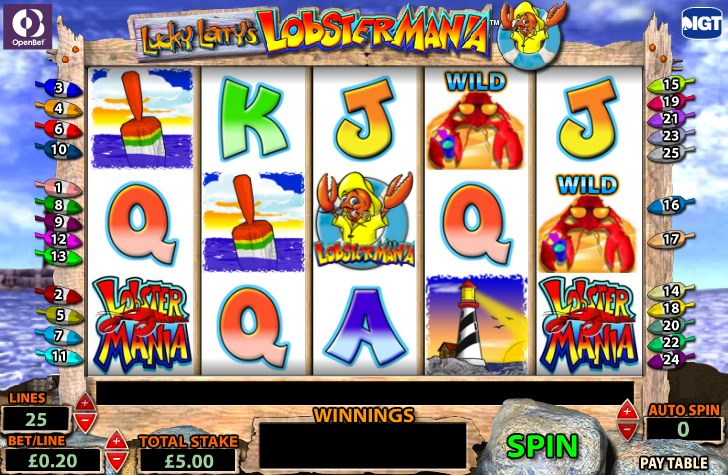 Lobstermania 2 slot